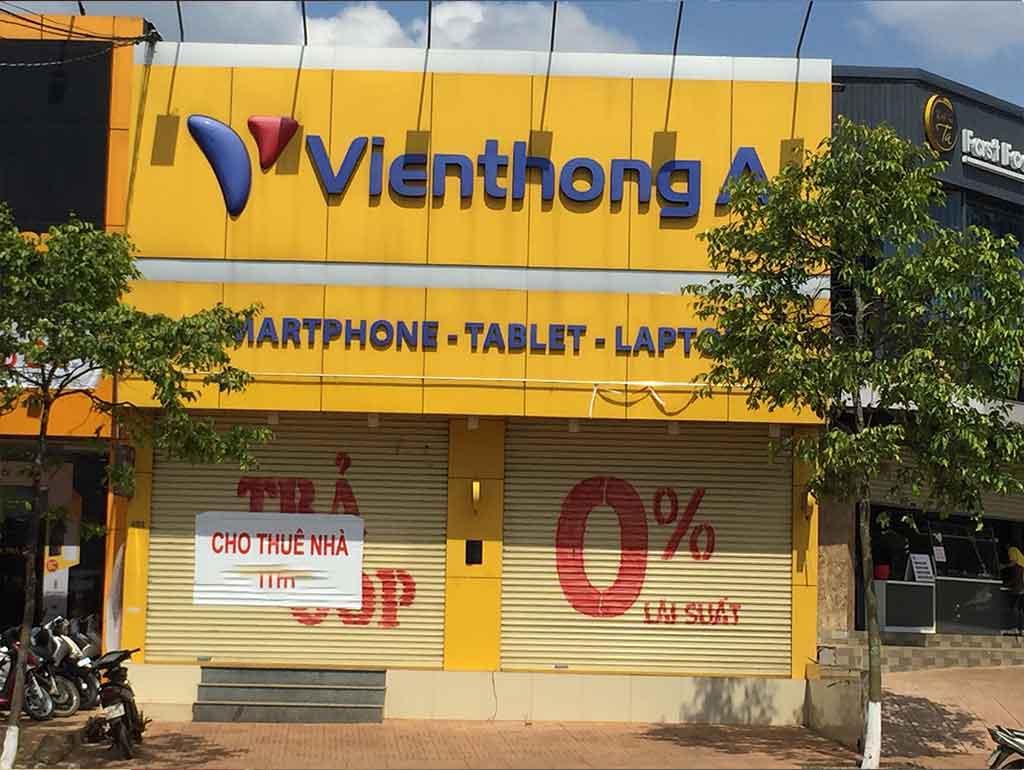 Cho thuê mặt tiền kinh doanh tx Buôn Hồ